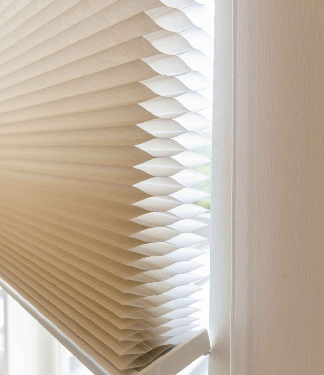 capable as out blinds not window blocks efficient choice sunlight an honeycomb interior fabrics img sunshading are they energy only cellular products shades blind also mirage known